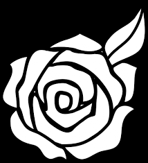 easy rose drawing for kids how to draw a rose flower easy step