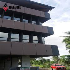 Modern Business Building Design China Ideabond Modern Building Design Aluminum Exterior Wall