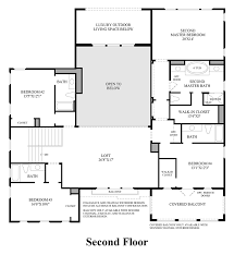 Floor Plans In Spanish by Enclave At Yorba Linda The Del Mar Ca Home Design