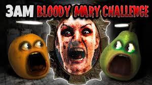 Bloody Mary Halloween Costume 3am Bloody Mary Challenge Annoying Orange Shocktober