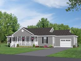 Ranch House Floor Plans With Basement Home Design 28 Ranch Home Designs With Porches Rancher