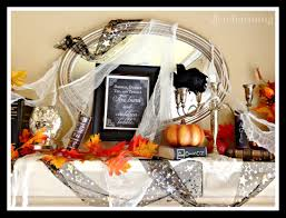 how to decorate a wickedly beautiful halloween mantel often charming