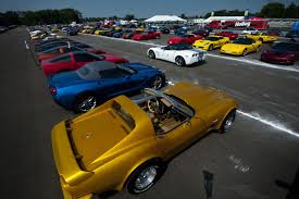 corvette owners corvette owners take high speed laps on track