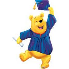 mylar winnie pooh graduation 35