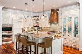 split level kitchen island island overhang kitchen traditional with split level kitchen