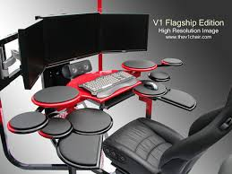 Good Computer Desk For Gaming Stunning Great Computer Desks Swordfish The Ultimate Pc Desk