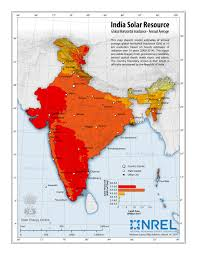Map Nepal India by Nrel International Activities India Solar Resource Maps U0026 Data