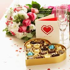 heart box of chocolates and flowers valentine s day pictures