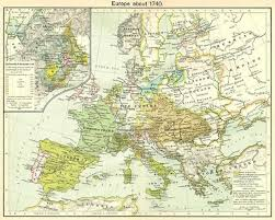 1939 Map Of Europe by Map Resources Atpc