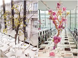 attractive diy wedding centerpieces branches branches wedding