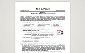 Best Sample Resumes by Resume It Help Desk Support
