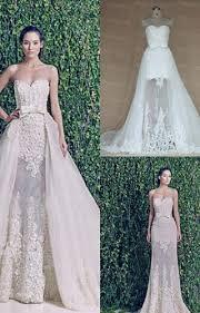 two wedding dress boho style lace sleeved two wedding dresses bridal