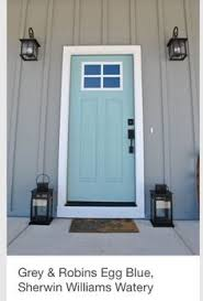 what are the best paint colours for a front door blue green