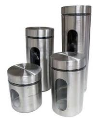 cool kitchen storage ideas glass canisters storage ideas and steel