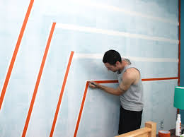 Wall Paintings Designs by Boys Bedroom Graphic Racing Stripes Painted Accent Wall Painted