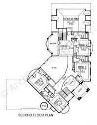 2nd Floor House Plan by Inverness Tuscan Floor Plans Luxury House Plans