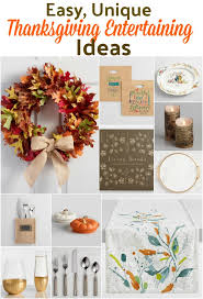 thanksgiving entertaining made easy with 12 unique ideas an alli