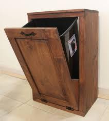 kitchen trash can storage cabinet wooden tilt out trash can trash bin dog food storage cabinet