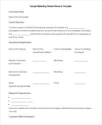 student resume template word 2007 resume template for microsoft word medicina bg info