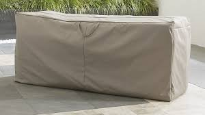 Garden Bench With Storage Outdoor Bench Chaise Cushion Storage Bag Crate And Barrel