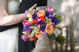 wedding flowers nashville tn colorful bridal bouquet from