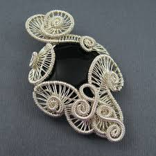 wire jewelry necklace images Free wire jewelry tutorials carnival pendant wire wrapped sea jpg