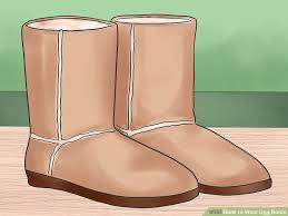 rugged ugg boots original ugg 3 ways to wear ugg boots wikihow