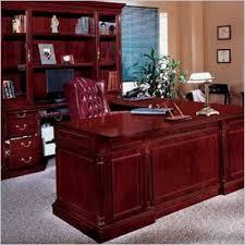 U Shaped Executive Desk Office Left Executive U Shaped Desk Traditional Office Furniture