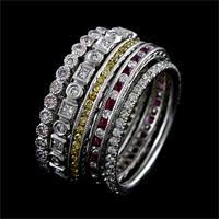 stackable wedding bands the wedding band diamond wedding bands for women white gold