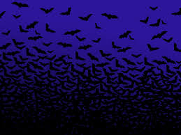 seamless halloween background halloween background flying bats in full moon royalty free bat