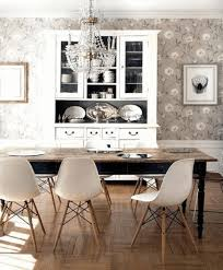 White Dining Room Sets Kitchen Furniture Rustic Wood Dining Table Black And White Area