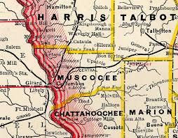 kbcc map county of muscogee georgiainfo