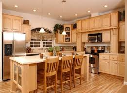 Kitchen Paint Colors With Wood Cabinets What Paint Color Looks With Wood Cabinets Trekkerboy