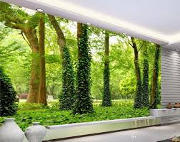 luxury european modern hd forest landscape wall mural 3d wallpaper see larger image