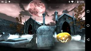 halloween graveyard 3d android apps on google play
