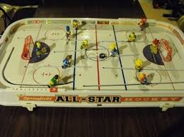 Table Top Hockey Game Simpsons