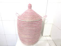 Laundry Hamper Australia by Pink And White Laundry Basket Girls Roomstriped Hamper