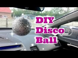diy disco ornament decor