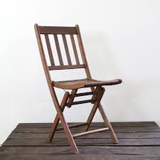 wonderful vintage wood folding chairs chair little size camp seat