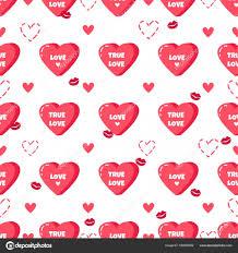 imagenes feliz dia del beso amor patrón sin fisuras con besos y corazones rojos feliz día de