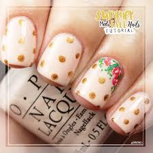 summer meets fall nails u0026 tutorial modern chic magazine