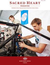 sacred heart magazine winter 2016 by sacred heart schools