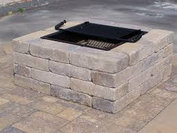 Square Fire Pit Insert by Firepits And Fireplaces