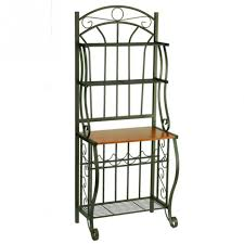 Metal Bakers Rack Cute Kitchen Bakers Racks Come With Black Metal Kitchen Bakers