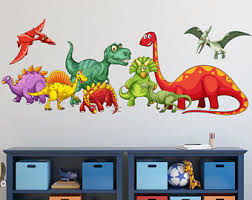 dinosaur bedroom etsy