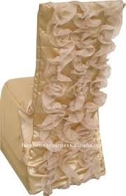 ruffled chair covers ruffled wedding chair covers buy chair covers for