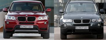 Bmw X5 9 Years Old - photo comparison old vs new bmw x3