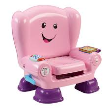 Childs Pink Armchair Amazon Com Fisher Price Smart Stages Chair Pink Baby