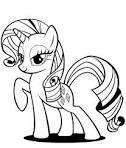 Print My Little Pony Coloring Pages Rarity or Download My Little ...