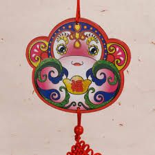 year of monkey wall hanging decoration medium arts crafts